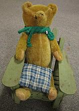 Steiff Bear / Early Chair