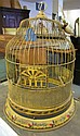 Tole Painted Birdcage