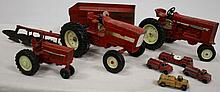 Tractor/Truck toy lot