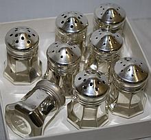 8 Cartier Salt & Pepper Shakers