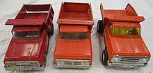 3 Tonka Dump Body Trucks