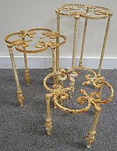 3 Garden Tables