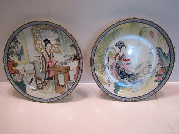Pair of Chinese Plates