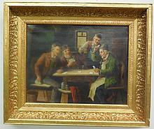 Oil Painting signed Pegrand