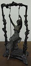 Bronze Art Nouveau Sculpture