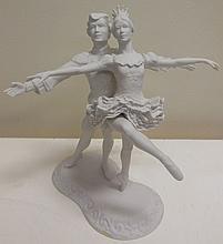 Bisque Ballerina Figurine