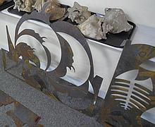 Lot of Fossil Cut Outs