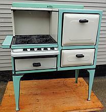 Silver Star- Cast enamel kitchen stove