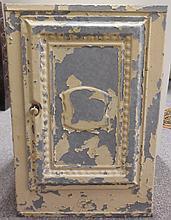 1 door tole painted hanging cabinet