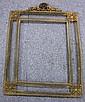 French Brass Filigree Frame