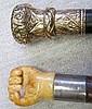 Rosewood Cane & Ivory Fist Cane
