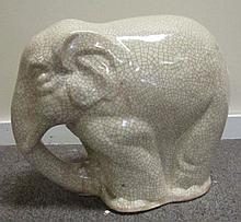 Porcelain Elephant 16.5