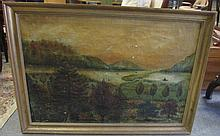 19th Century Landscape as Found