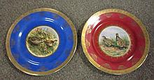 Pair Game Bird Plates