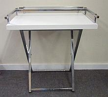 Formica and Chrome Table