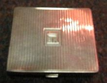Tiffany Sterling Silver Cigarette Box