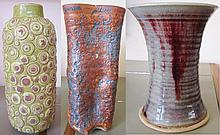3 Piece Lot of Vases
