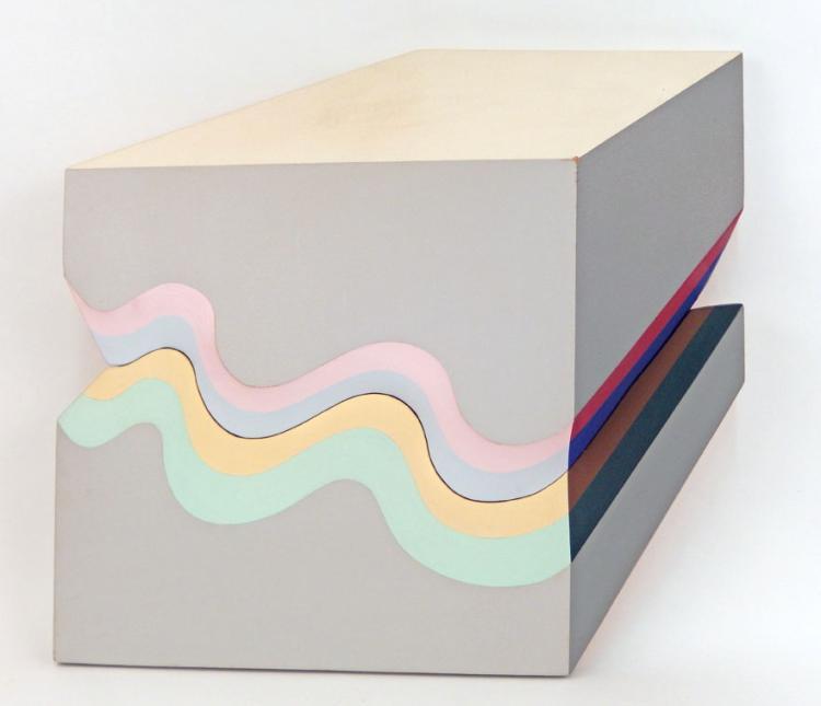 Shozo Nagano acrylic canvas construction