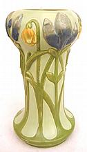 Julius Dressler art pottery vase