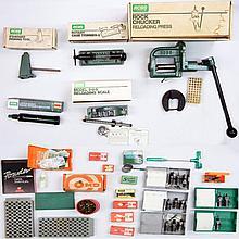 Grouping of reloading equipment