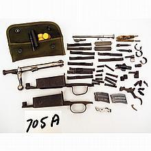 Grouping of gun parts