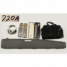 Grouping of shotgun accessories