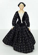 Milliner's Model papier mache doll