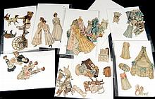 Collection of Lettie Lane paper dolls