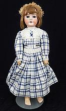 C.M. Bergmann bisque socket head doll