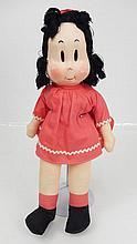 1940's Little Lulu cloth doll