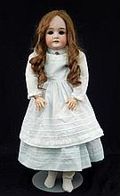 Armand Marseille Queen Louise bisque socket head doll