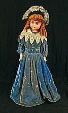 Alt, Beck & Gottschalck 1123 turned bisque shoulder head doll