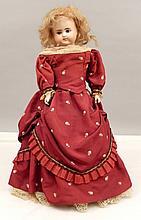 Alt, Beck & Gottschalck 698 turned bisque shoulder head doll