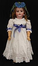 CM Bergmann bisque socket head doll