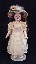JD Kestner 249 bisque socket head doll
