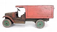 Buddy L pressed steel Delivery Truck