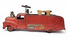 Marx Ride on fire truck