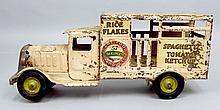 Metalcraft pressed steel Heinz 57 delivery truck