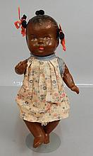 Black Topsy composition doll