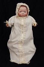 Grace S. Putnam Bye-lo bisque head baby doll