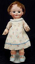 Armand Marseille 323 Googly-eyed bisque head doll