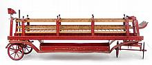Pressed steel fire ladder truck