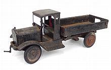 Keystone Toys pressed steel dump truck