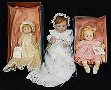 Two Madame Alexander dolls in boxes, Lee Middleton doll