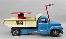 Buddy L Sit-N-Ride pressed steel truck