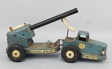 Ny-Lint Toys Missile Launcher pressed steel truck