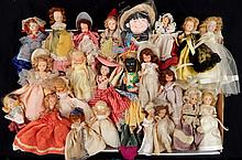 Large grouping of Nancy Ann Story Book dolls
