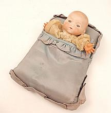 Germany Kiddie joy bisque head doll, Armand Marseille