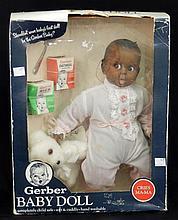 Gerber black Baby Doll in original box