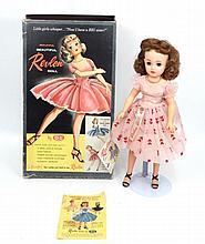 1950's Ideal Miss Revlon Doll in original box